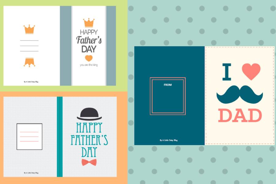 Carte gratuite à imprimer pour la fête des pères