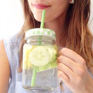 recette detox water