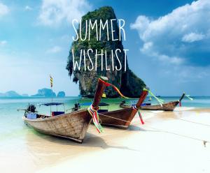 Wishlist-Summer