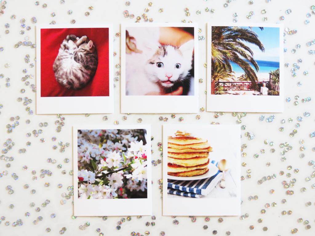 Polaroids gratuit Take It