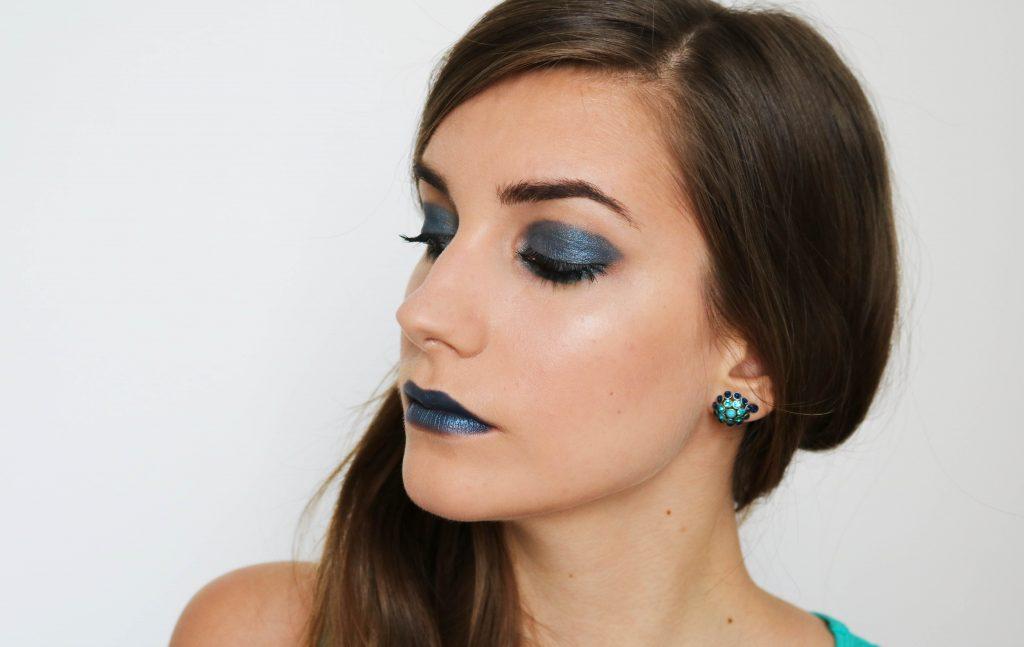 makeup vert émeraude midnight swim monday shadow challenge