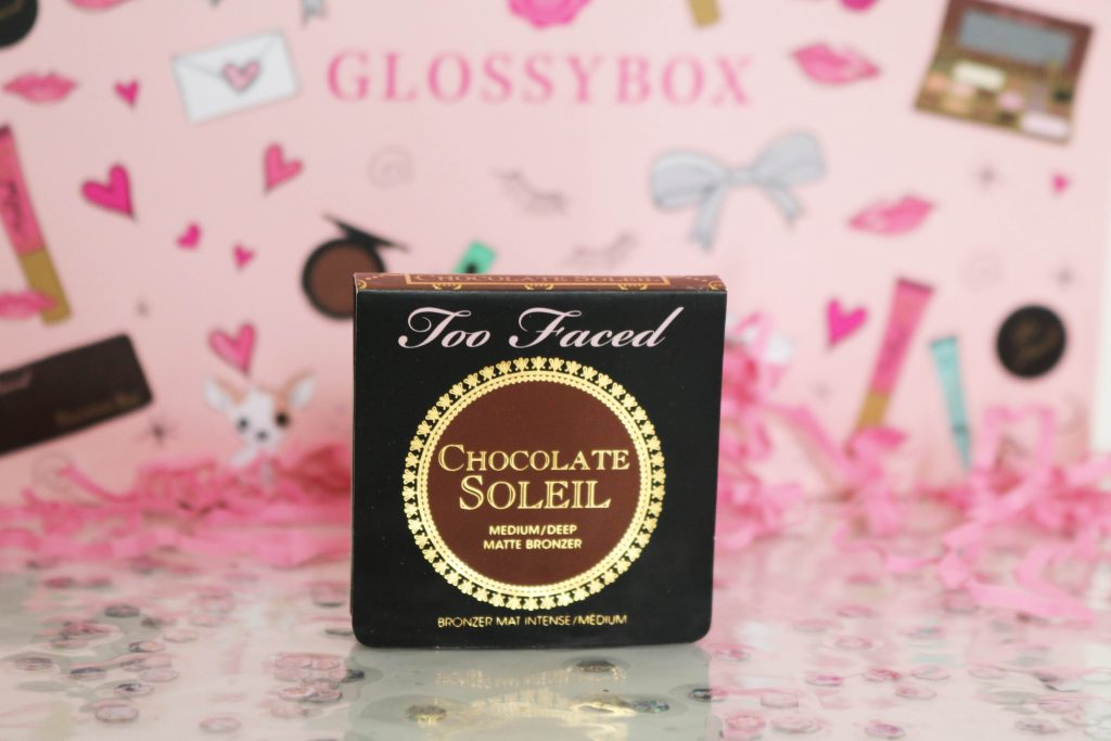 glossybox toofaced bronzer chocolate soleil