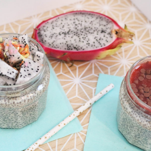 recette chia pudding vanille
