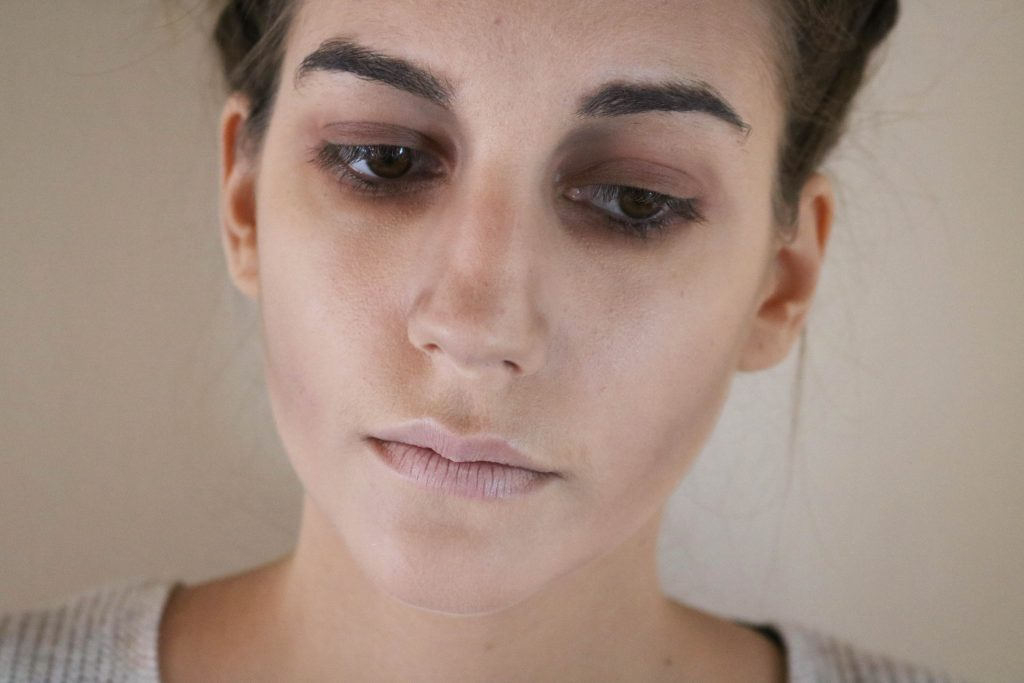 maquillage halloween zombie simple