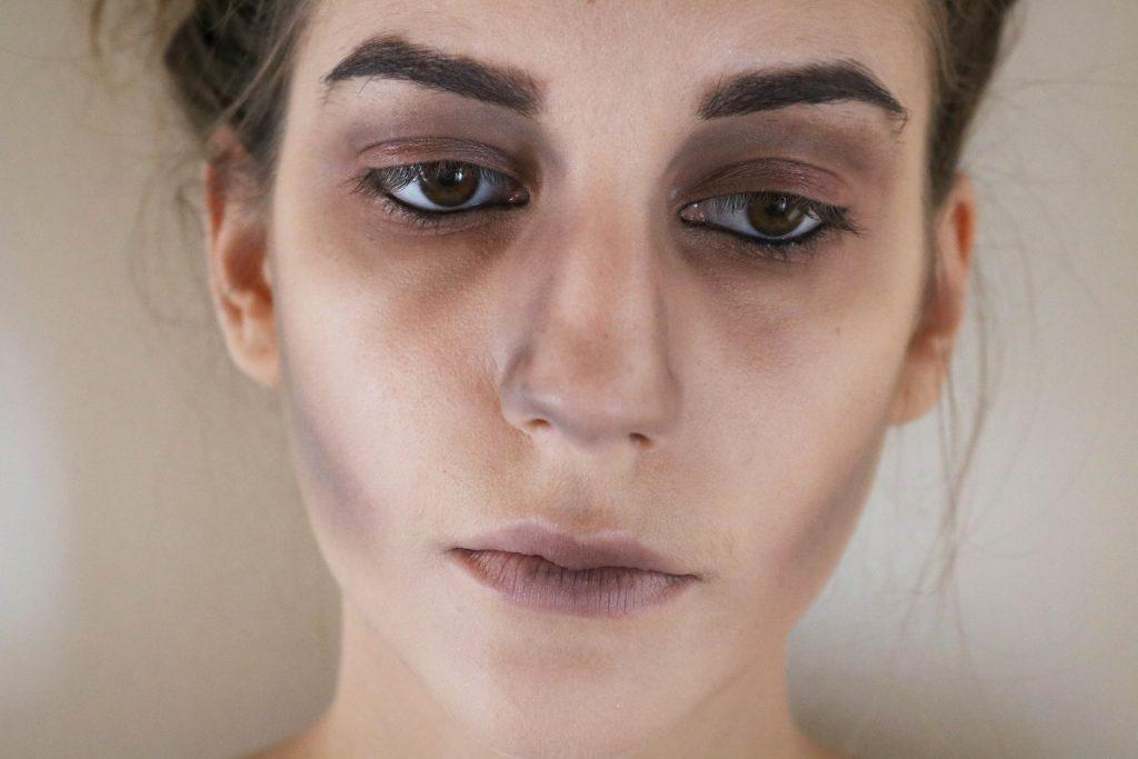 Maquillage D Halloween Simple Et Economique Le Zombie A Little Daisy Blog Blog Lifestyle Beaute Mode A Lyon