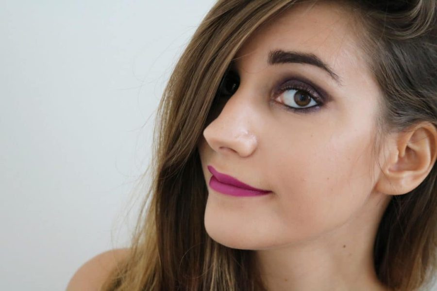 Maquillage violet Monday Shadow Challenge