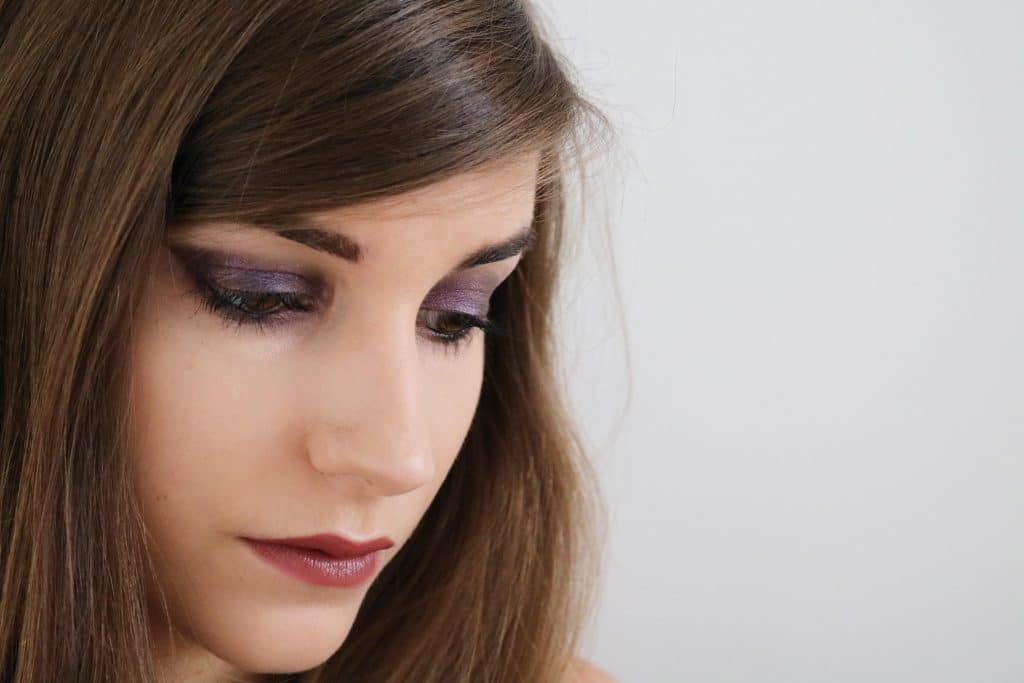 Maquillage violet Monday Shadow Challenge