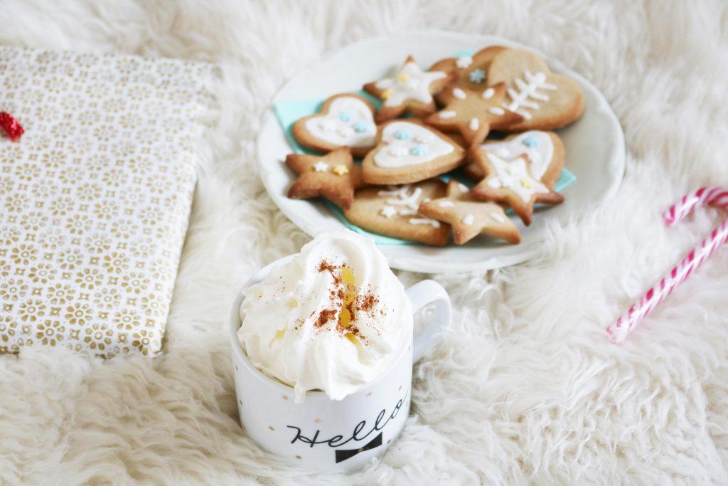 Recette biscuits à la cannelle et chocolat chaud maison