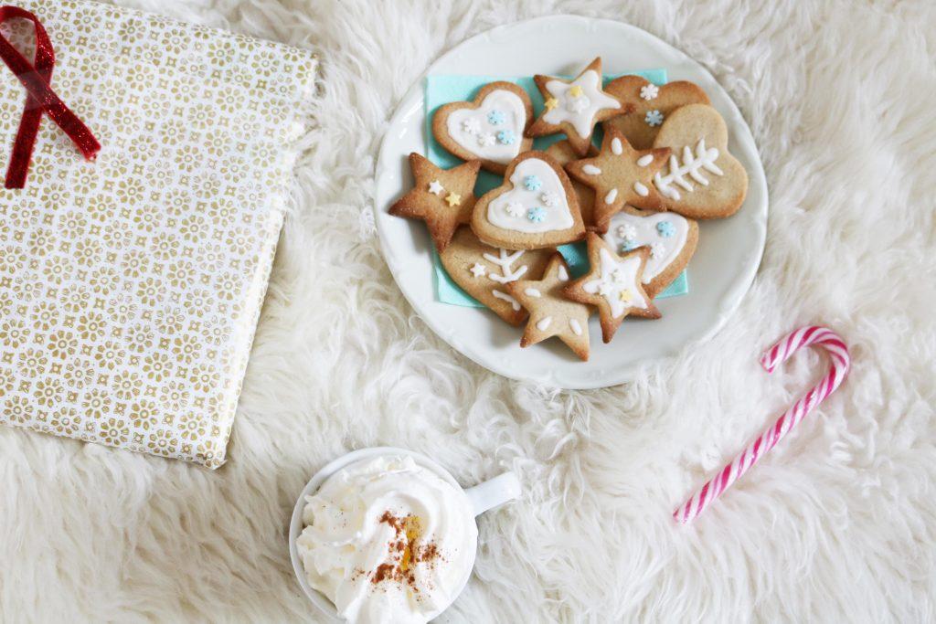 Biscuits de noel chocolat cannelle