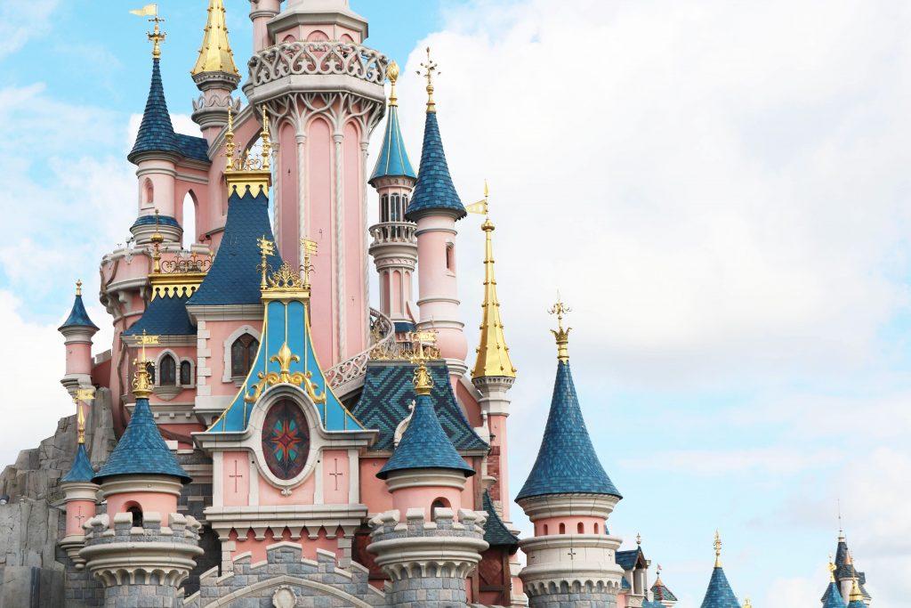 Parc Disneyland Paris Chateau Belle au bois dormant