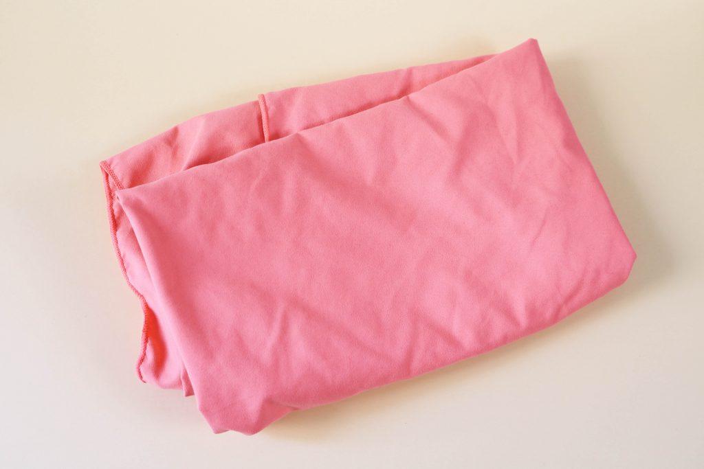 Indispensables de mon sac de sport : serviette absorbante