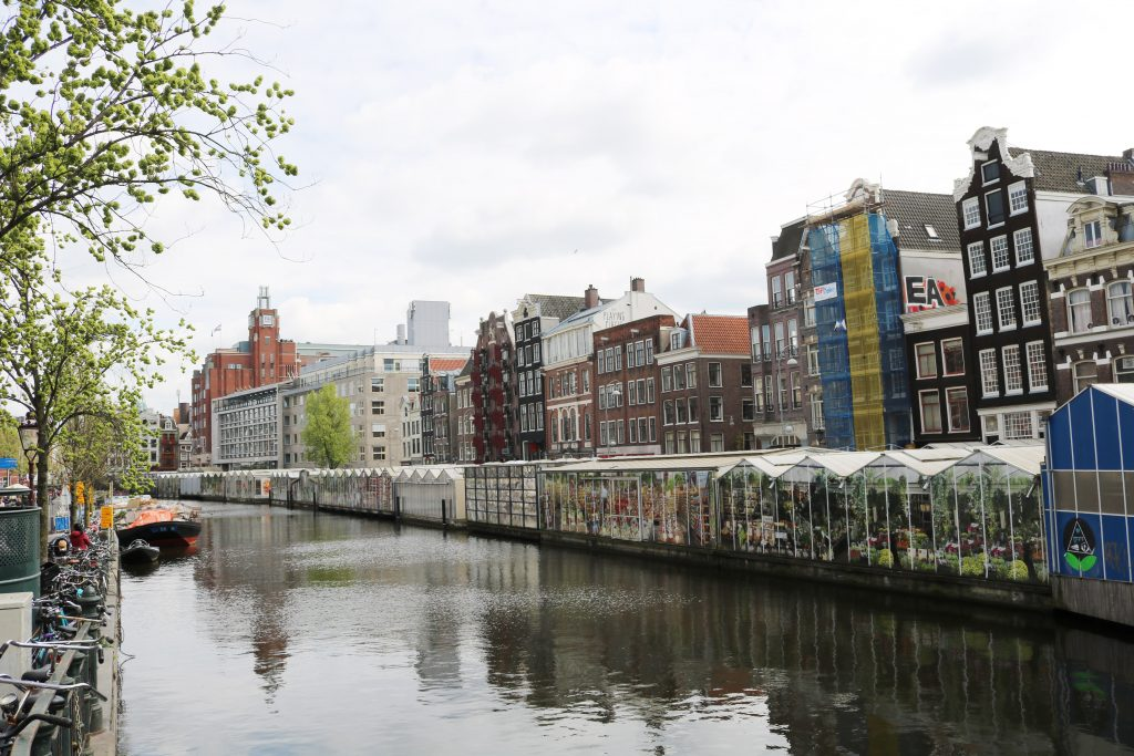 City Guide : Visiter Amsterdam en 4 jours Bloemenmarkt