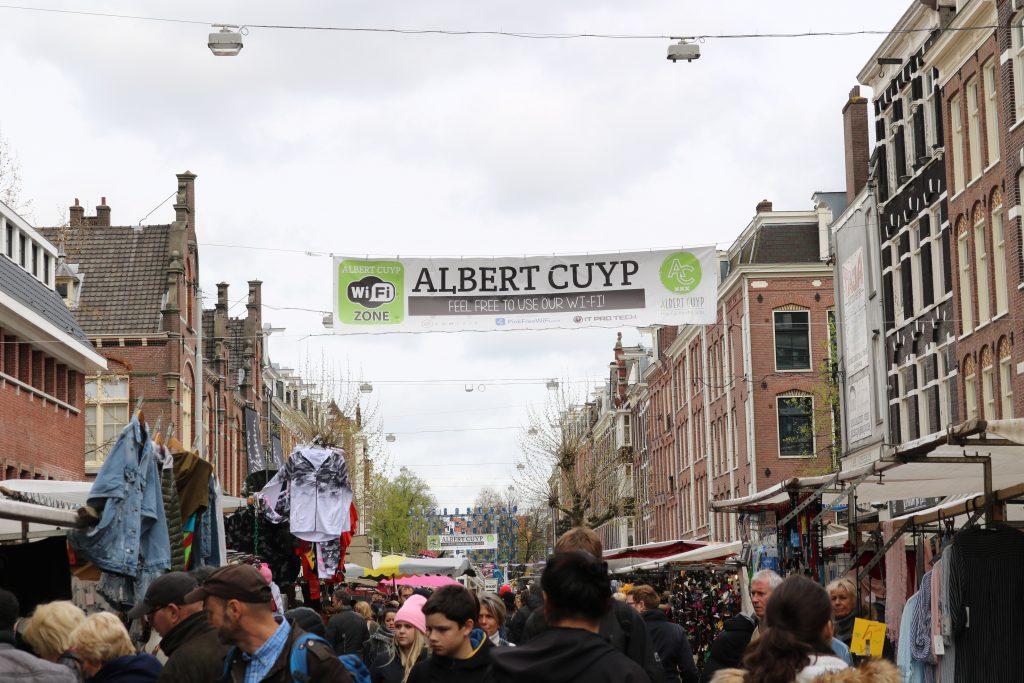 City Guide : Visiter Amsterdam en 4 jours Albert cuypmarkt