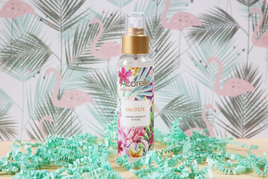 Biotyfull Box de Juillet : eau d'été parfumée Acorelle