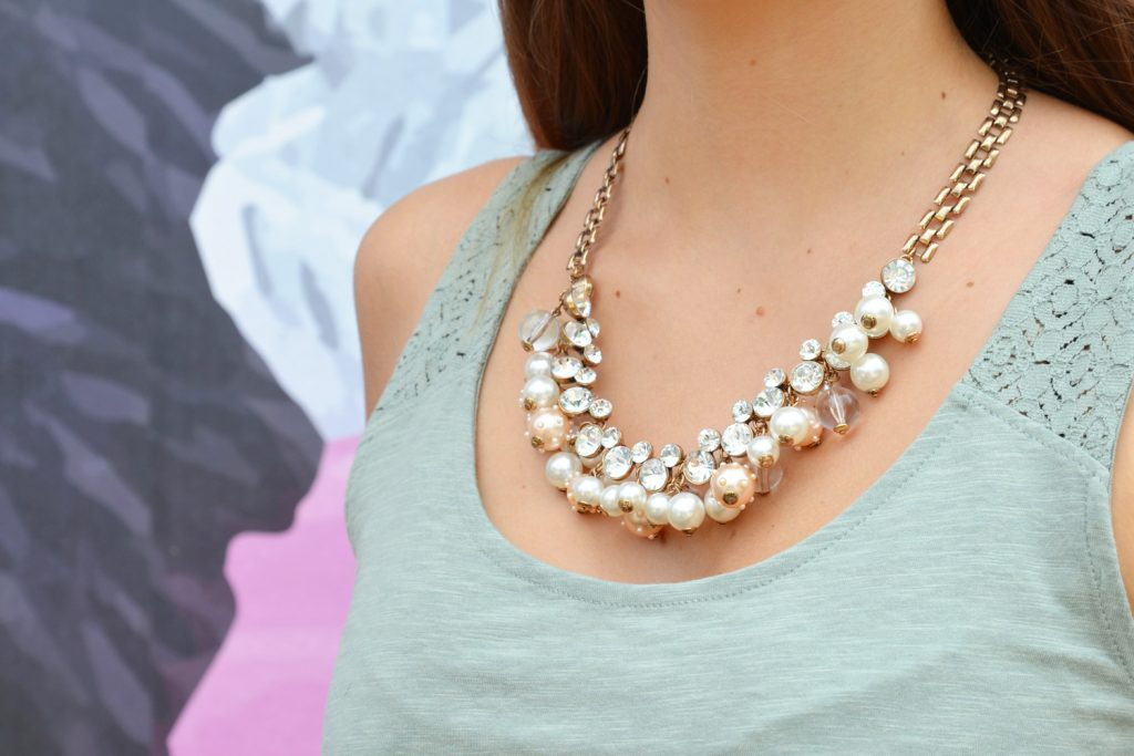 Collier perles Happiness Boutique