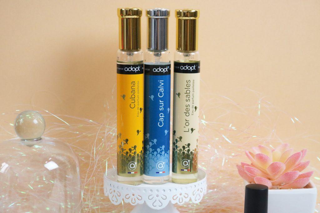 Parfums Adopt' Cubana, Cap sur Calvi et L'or des sables