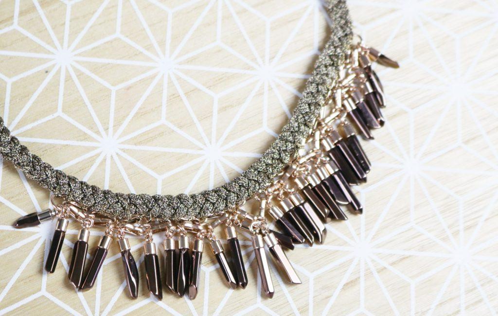 Coups de coeur : collier Bora Fringe Stella & Dot