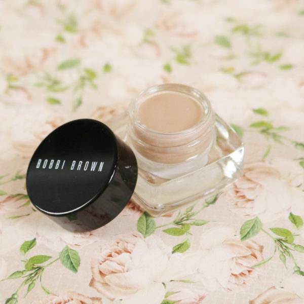 Revue et avis long-wear cream shadow de Bobbi Brown, teinte Sandy Gold