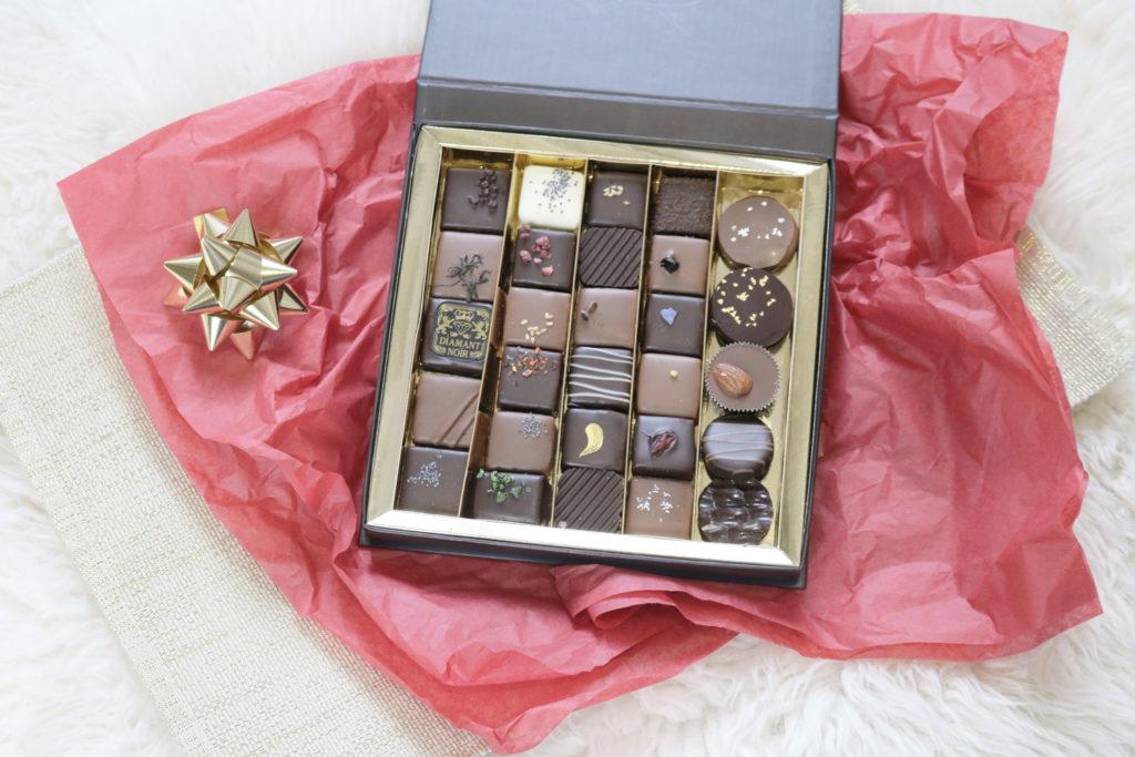 Coffret de chocolats Voisin pour noël