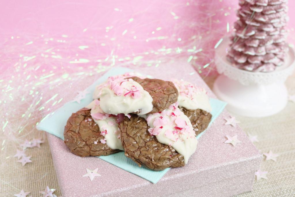 Recette cookies de noël au sucre d'orge - Candy cane cookies