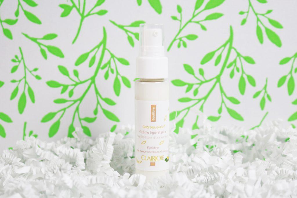 Crème hydratante Clairjoie Betrousse édition Mini Green