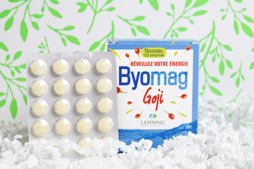 Comprimés Byomag Goji - Laboratoires Lehning