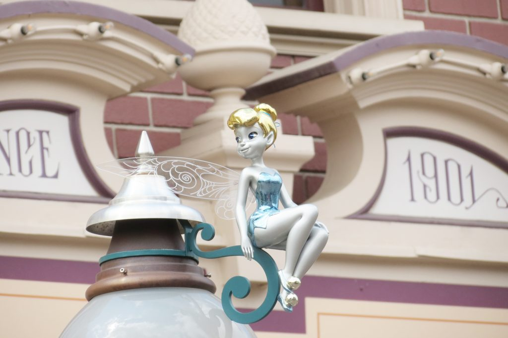 Fée Clochette Peter Pan à Disneyland Paris
