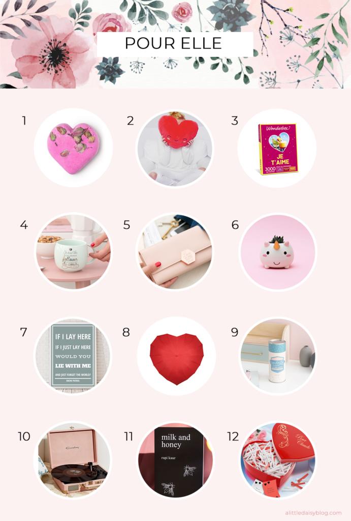 Idées de cadeaux originaux pour la Saint Valentin pour femme