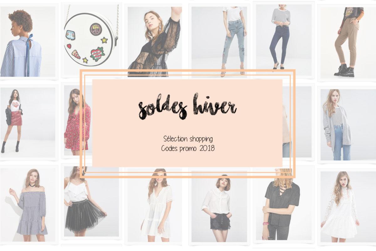 Soldes hiver 2018 : sélection shopping et codes promo