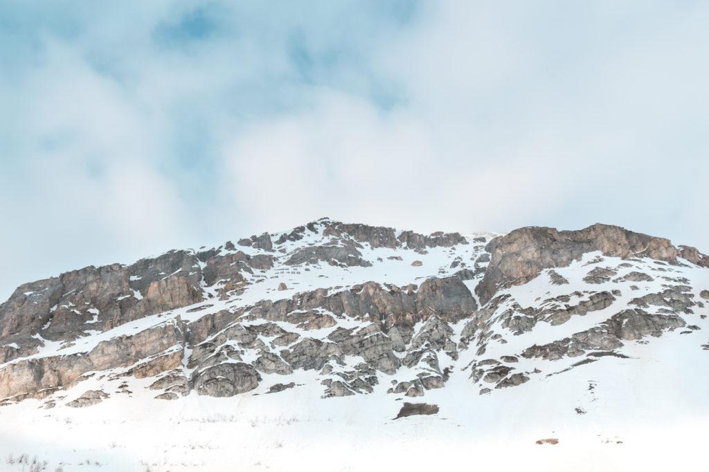 paysage montagne Val d'Isère