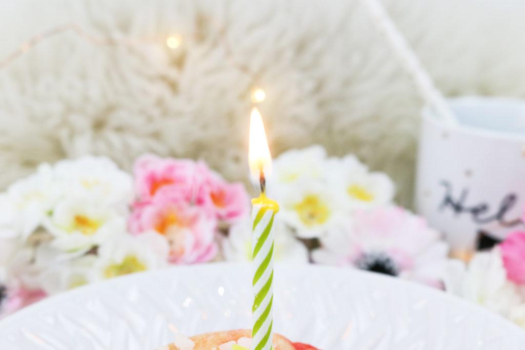Bougie anniversaire Blog Lifestyle Lyon