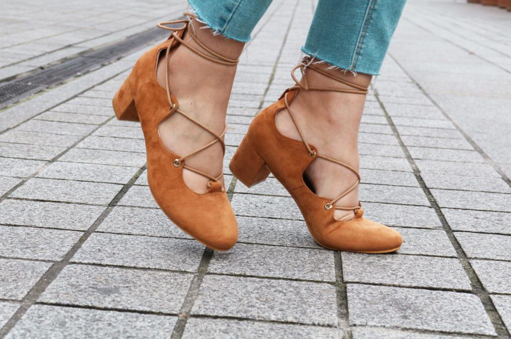 chaussures camel Cendriyon dupe Sézane blog mode Lyon