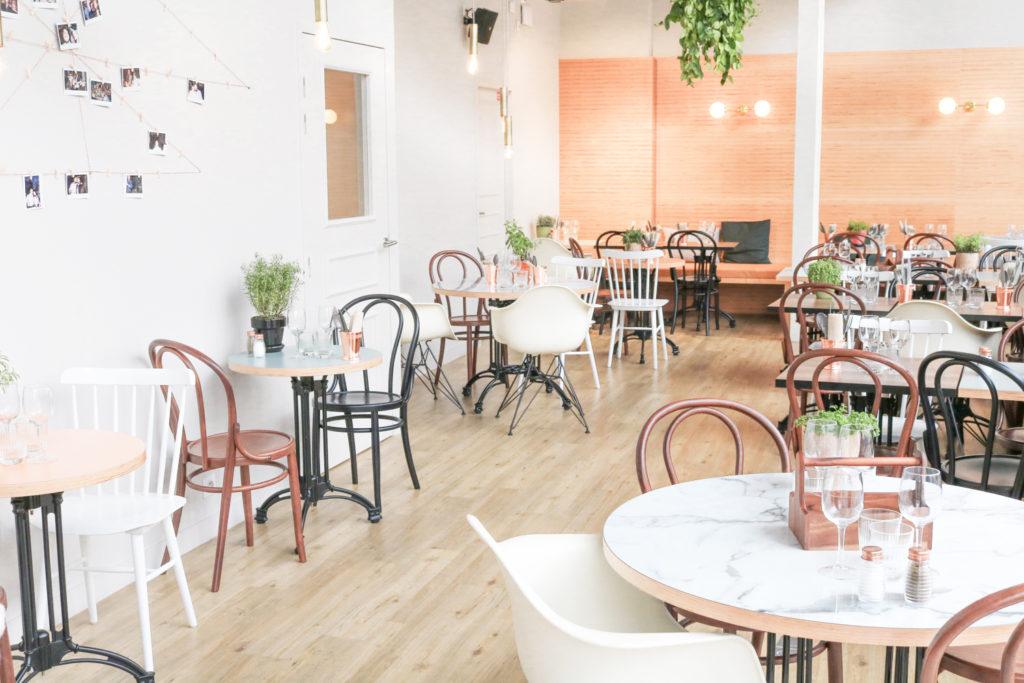 Modjo restaurant coworking Lyon Part dieu