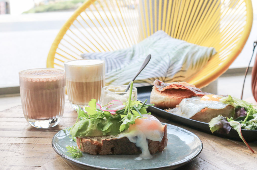 Avocado toast Modjo restaurant coworking Lyon Part dieu