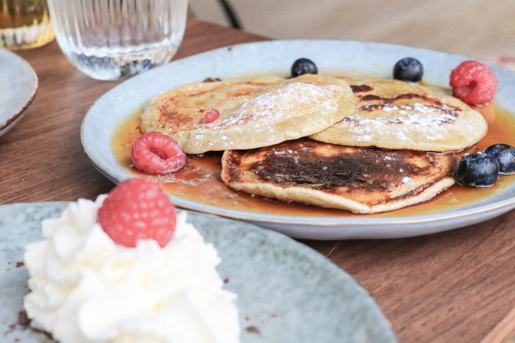 pancakes Modjo restaurant coworking Lyon Part dieu