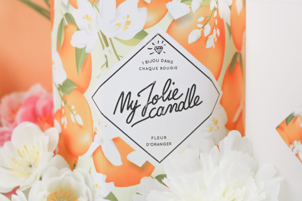 Mon avis sur la bougie bijou à la fleur d'oranger My Jolie Candle