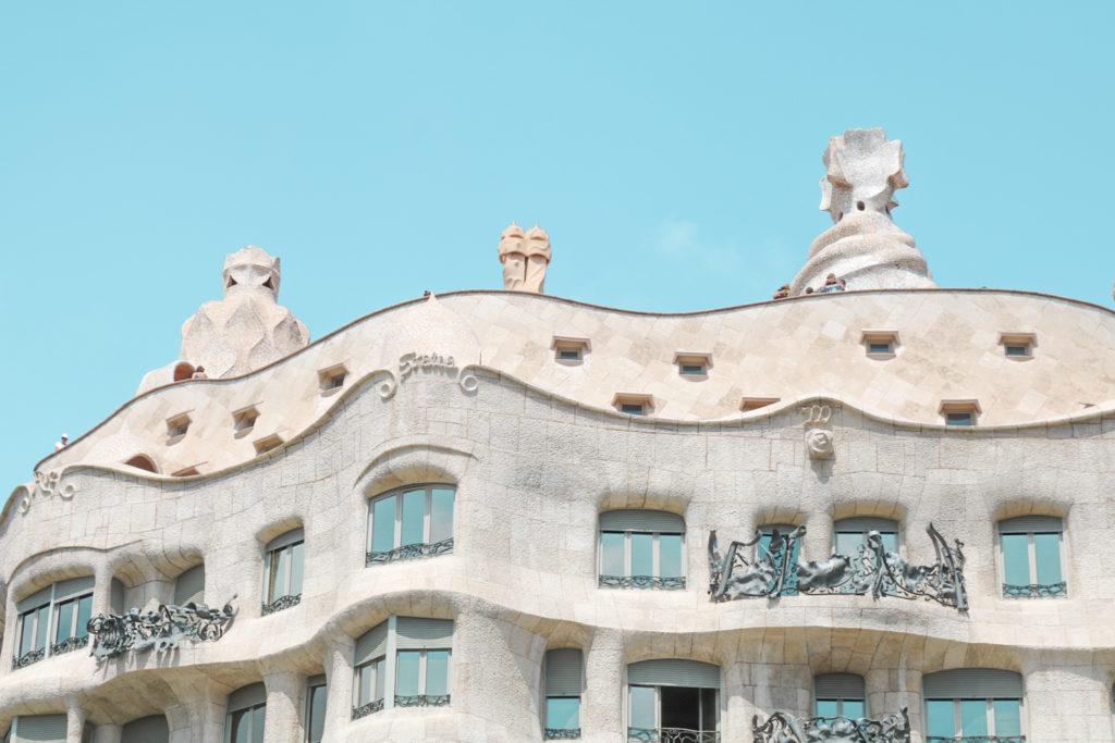 City Guide Barcelone Casa Mila Espagne