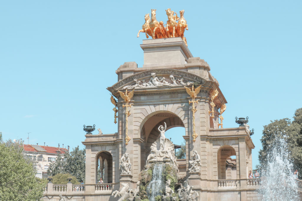 City Guide Barcelone Parc de la Ciutadella Espagne