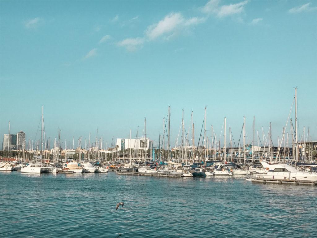 City Guide Barcelone Barceloneta port Espagne
