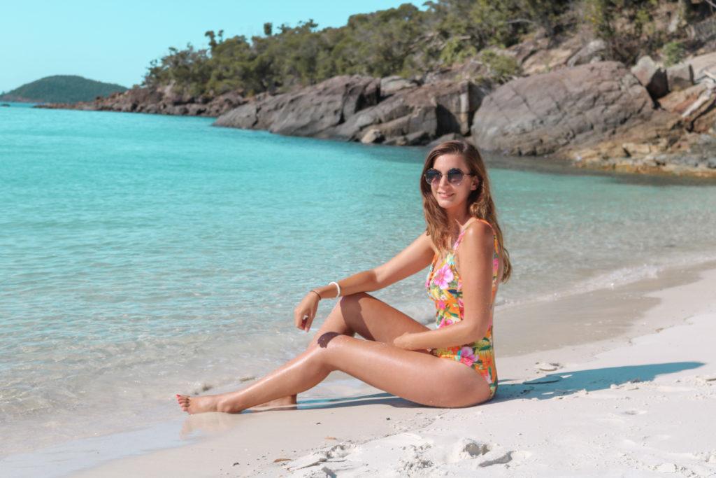 maillot de bain Tropisun Banana Moon Whitehaven Beach Australie