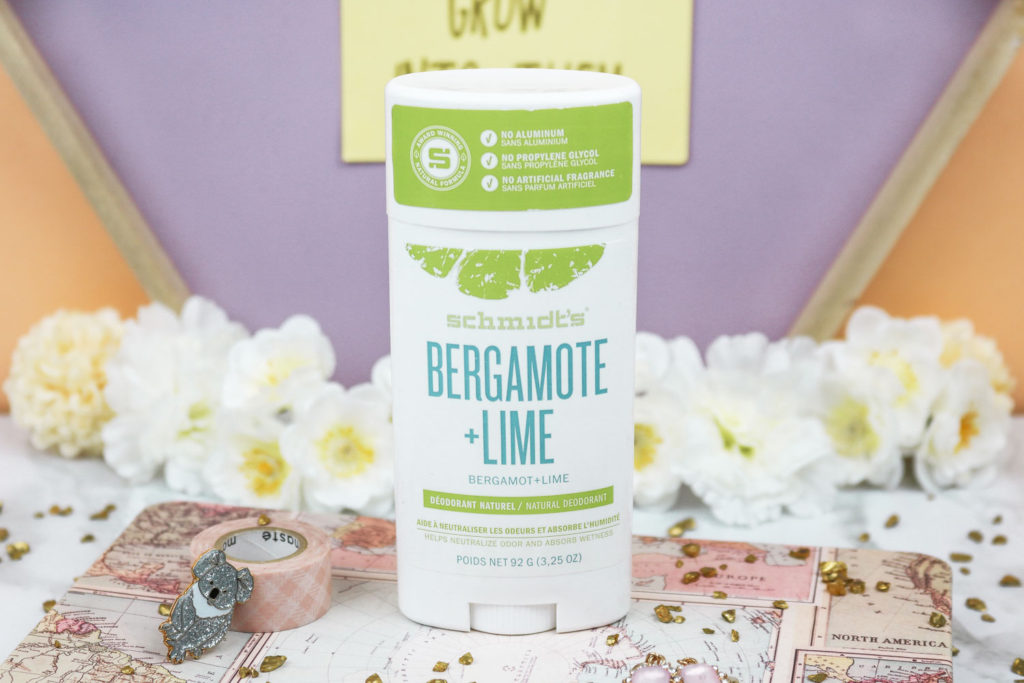 Déodorant naturel Schmidt's Bergamote & Citron vert